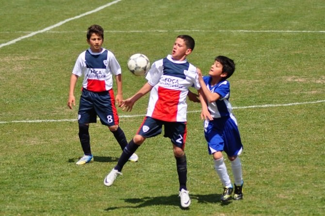 U 12 Futbol Takımımız Play-off'a Yükseldi