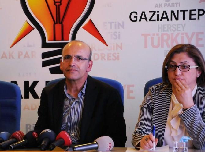 """Bakan Şimşek: """"Çok Açık Ve Net AK Parti Birinci Olmuştur"""""""