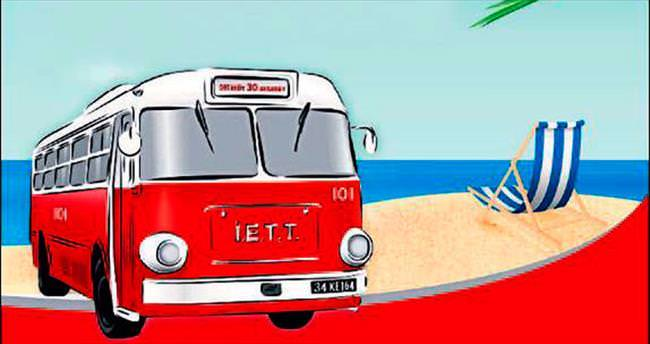 İETT'den plaj rotası