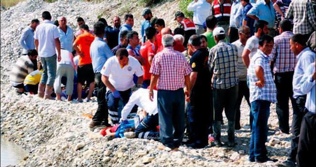 Serinlemek için suya giren 12 kişi can verdi