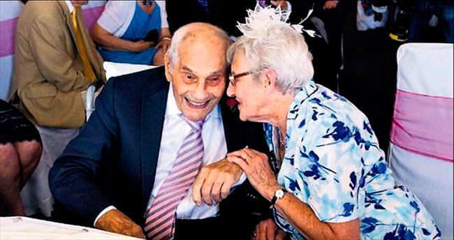 Dünyanın en yaşlı evli çifti