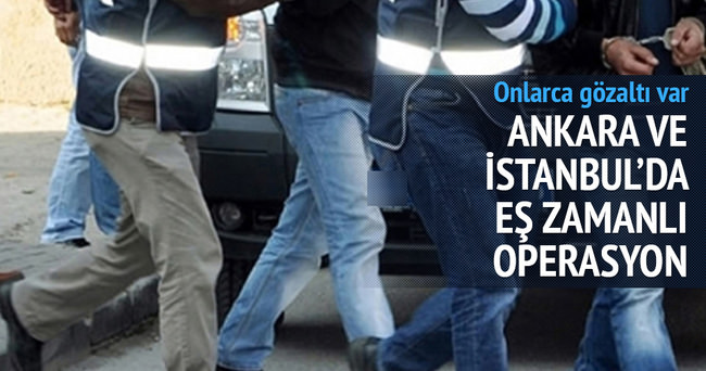 KPSS operasyonu: 21 gözaltı