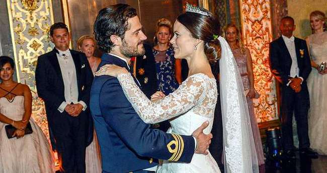 İsveç Prensi Carl Philip, eski fotomodel Sofia Hellqvist ile evlendi
