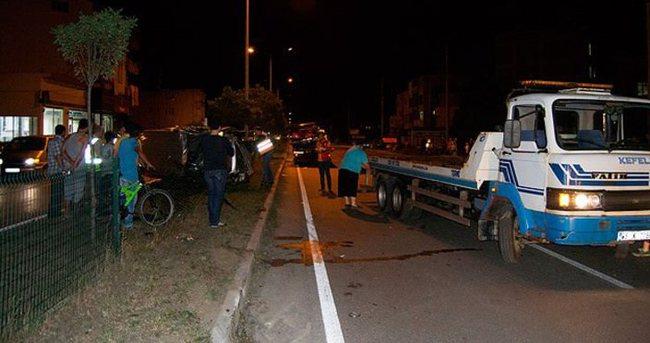 Samsun'da trafik kazası: 11 yaralı