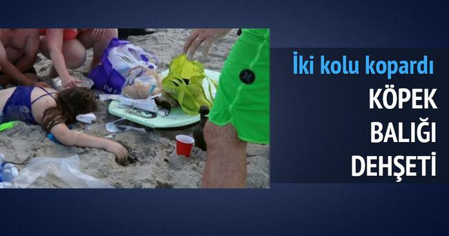 ABD'de köpek balığı saldırısı: 2 yaralı