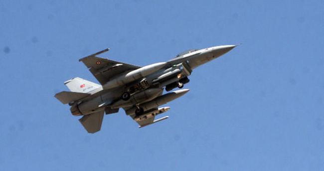 Sınıra yaklaşan Suriye uçağına F-16 yönlendirildi
