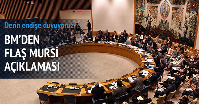 BM'den flaş Mursi açıklaması