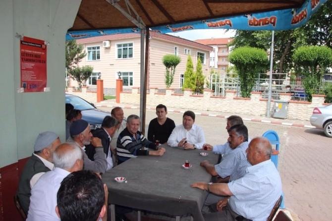 Tunç'tan Ulus AK Parti Teşkilatlarına Teşekkür Ziyareti