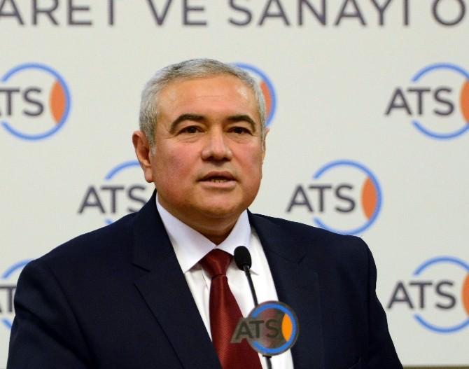 ATSO Başkanı Çetin'den İs0 500 Değerlendirmesi