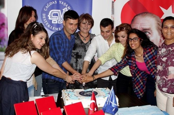 Ççyd Çukurova'da Uğurlama Töreni