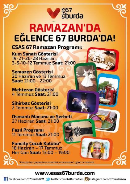 Esas 67 Burda AVM' De Ramazan Sürprizleri Zonguldaklıları Bekliyor