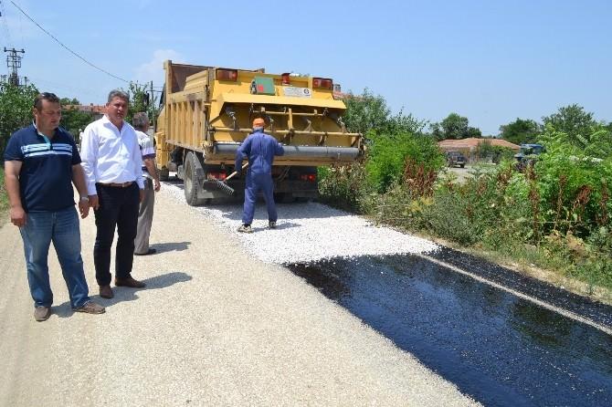 Keşan'ın Köy Yolları Yapılıyor