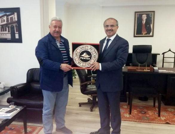 Pertek Belediye Başkanı TOKİ'yi Ziyaret Etti