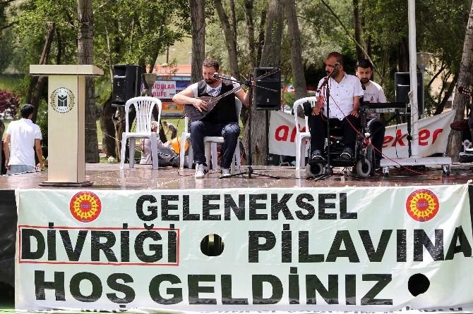 54'üncü Geleneksel Divriği Pilav Ve Kültür Şenliği Kutlandı