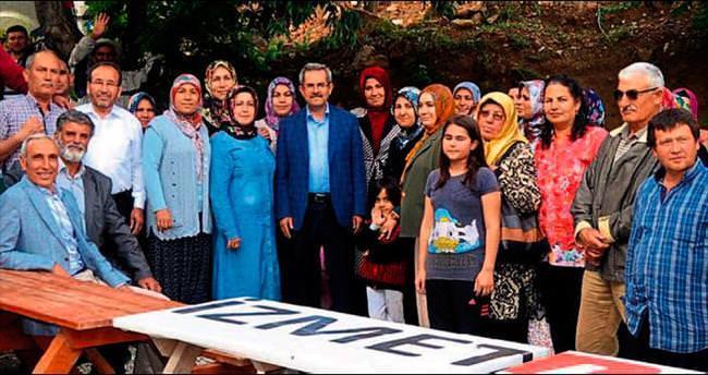 AK Parti milletimizin en büyük umududur