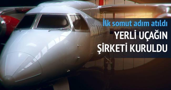 İlk yerli uçak şirketi kuruldu