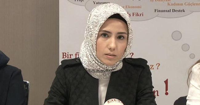 Sümeyye Erdoğan 'Kadın Girişimcilik Kampı'nı tanıttı