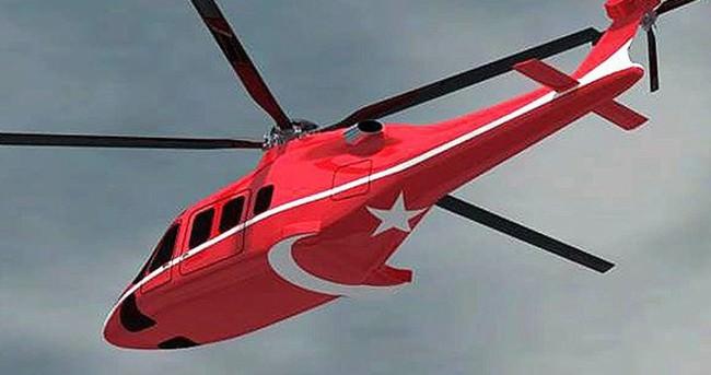 Özgün Helikopter Projesi'nde CTS800 motoru