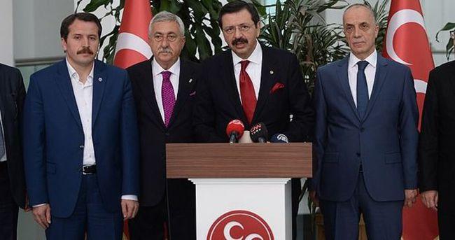 'Koalisyon hükümetinin kurulmasını talep ettik'