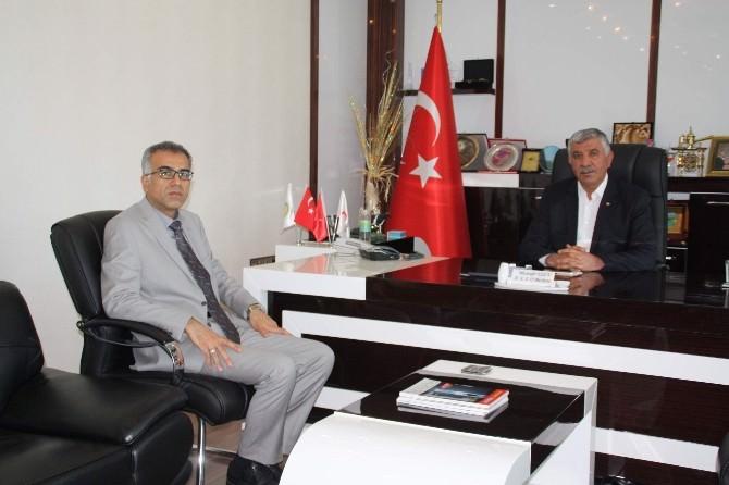 Genel Sekreter Öz'den ATSO Başkanı Uslu'ya Ziyaret