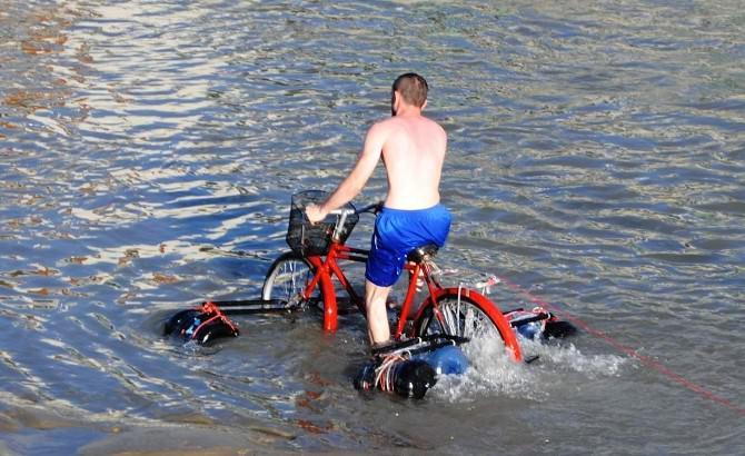 Bu Da Modifiyeli Nehir Bisikleti