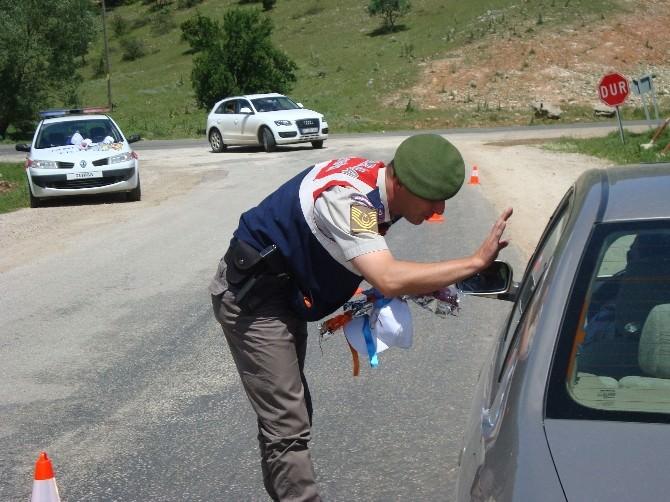 Jandarma Trafik Timlerinden Farkındalık Etkinliği
