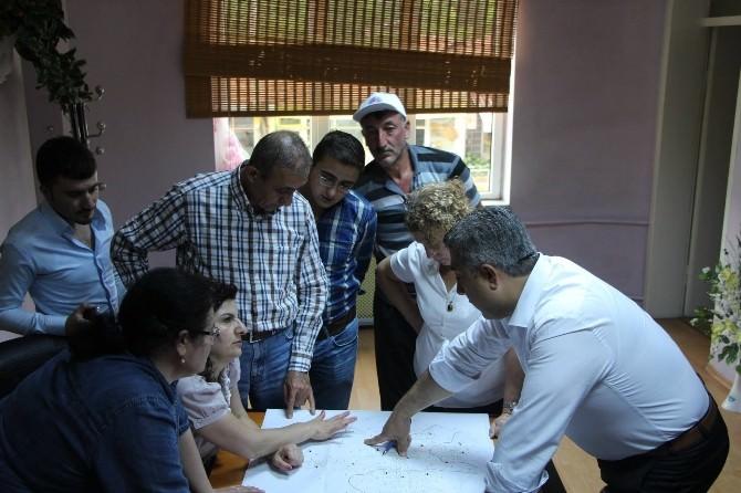 Hisarcık'ta Kanalizasyon Proje Çalışmaları