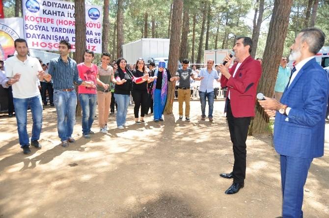 Kahtalılar İstanbul'da Piknikte Buluştu