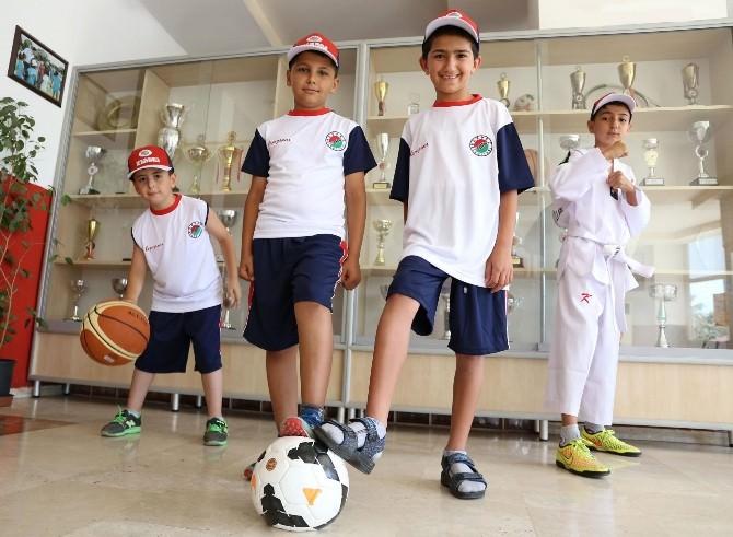Kepez Yaz Spor Okulu'na Büyük İlgi