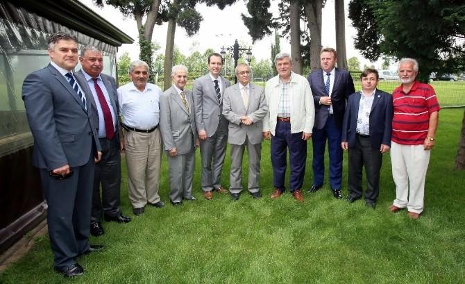 Başkan Karaosmanoğlu Fatih Erbakan'ı Ağırladı