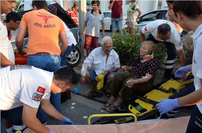 Bodrum'da Trafik Kazası: 2 Yaralı