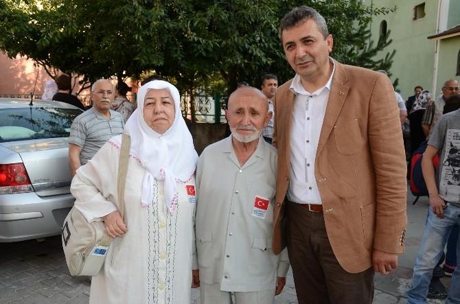 Ramazan'da Umre'ye Gidenler Uğurlandı