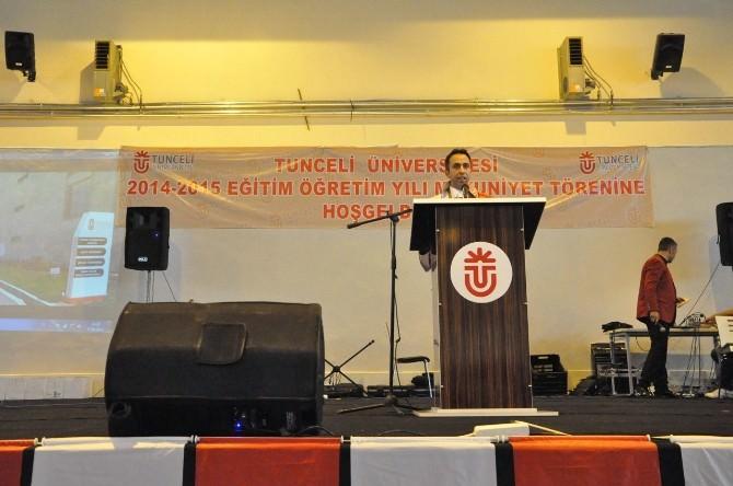 Tunceli Üniversitesi'nde Mezuniyet Coşkusu