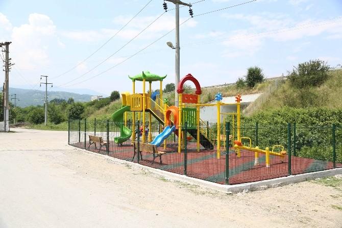 Yeni Mahallede Çocukların Park İsteği Gerçek Oldu