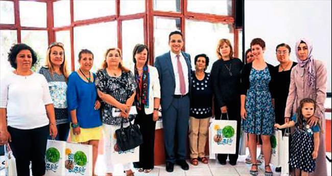 Bornova'da kadın kooperatifi kuruldu