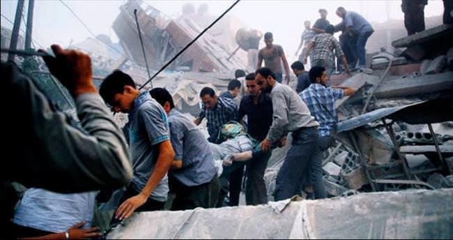 Esad'ın fil füzeleri sivilleri vurdu: 45 ölü
