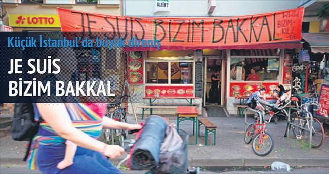 Kreuzeberg'de yaşayanlar 'Bizim Bakkal'a sahip çıktı