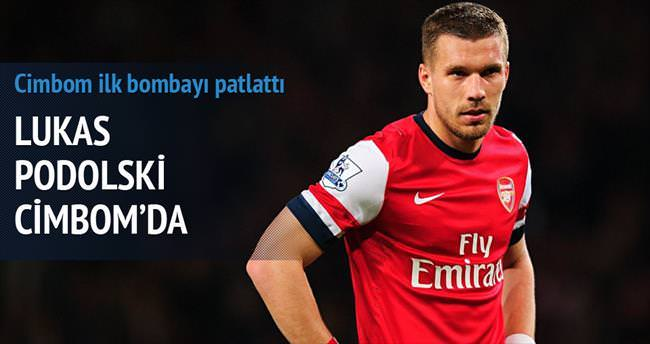 Lukas Podolski imzaya geliyor
