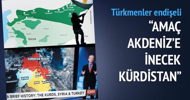 Amaç Akdeniz'e inen Kürdistan'ı dizayn etmek