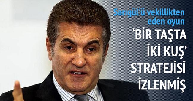Mustafa Sarıgül'ü vekillikten eden taktik!