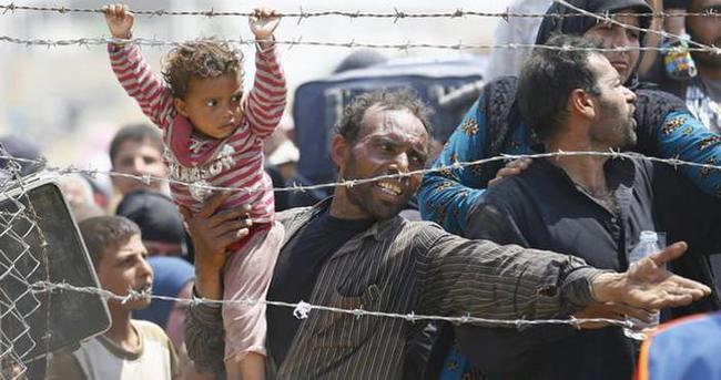 Dünyadaki her 10 mülteciden biri Türkiye'ye sığındı