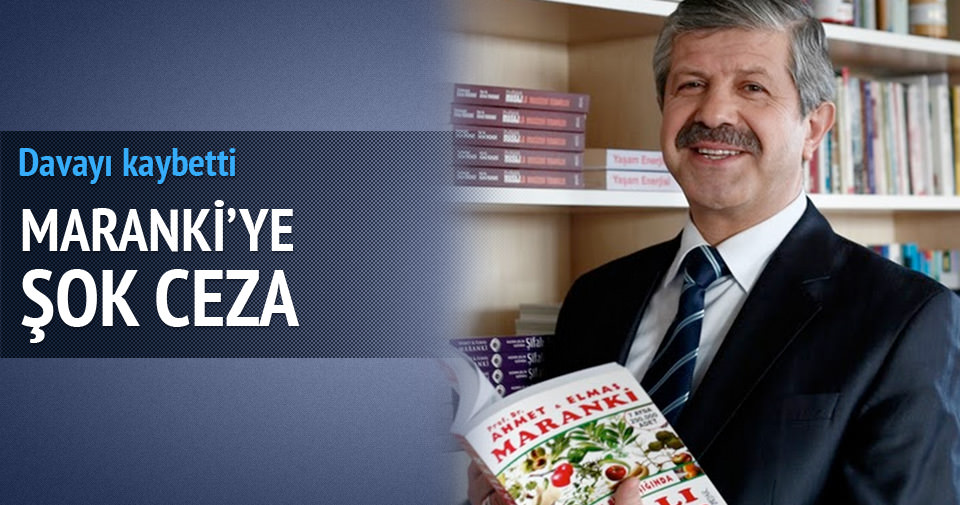 Prof. Dr. Ahmet Maranki'ye 'intihal' cezası