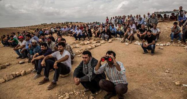 'Dünden beri 1100 kişi Tel Abyad'a geri döndü'
