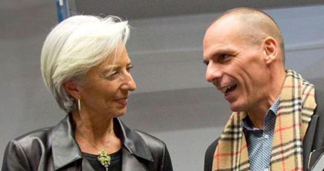 IMF başkanı Lagarde: Yunanistan'a erteleme olmaz