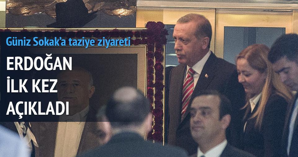 Erdoğan'dan Güniz Sokak'ta açıklama