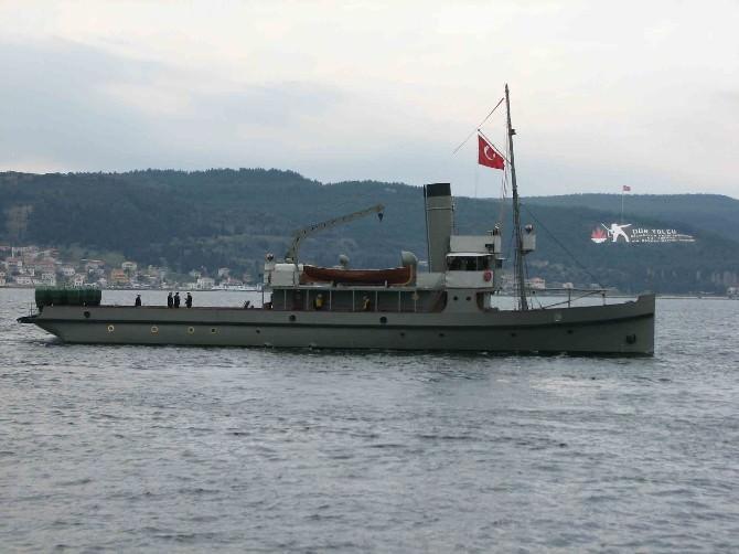 Nusret Mayın Gemisi Ordu'ya Geliyor