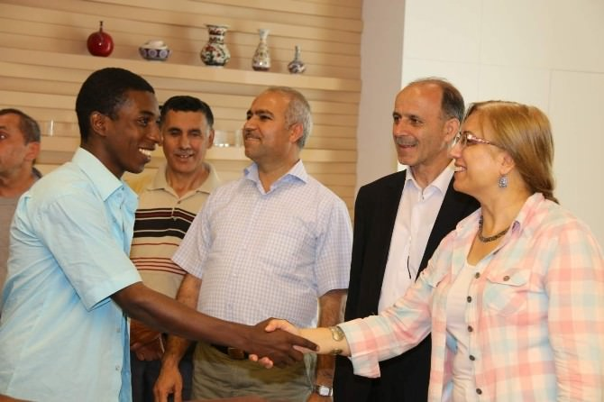 Afrikalı Öğrenciler Nevşehir'de