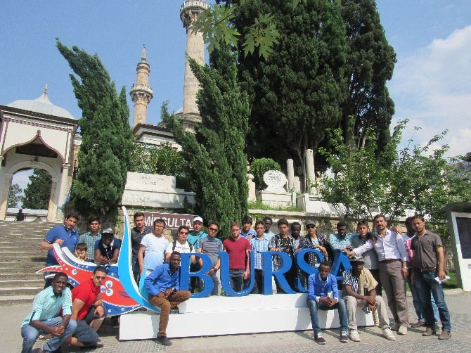 Misafir Öğrencilerden Anadolu Turu