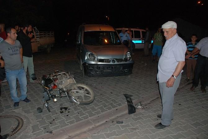 Bayramiç'te Trafik Kazası; 1 Yaralı