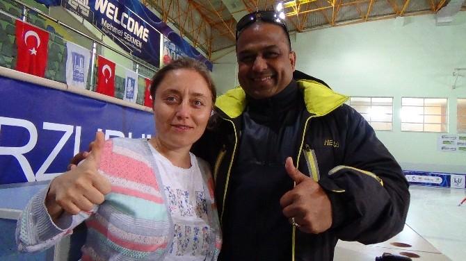 Hindistan Short Track Milli Takımı Kamp İçin Erzurum'da